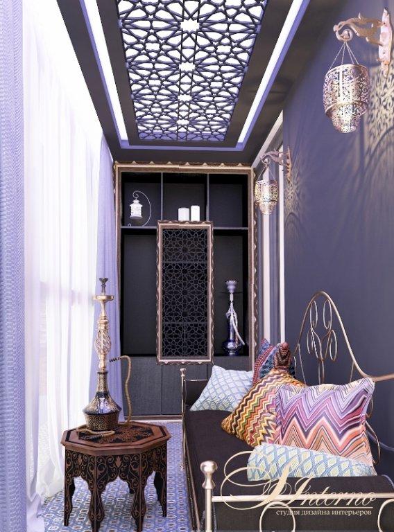 Варианты дизайна и отделки лоджий и балконов.